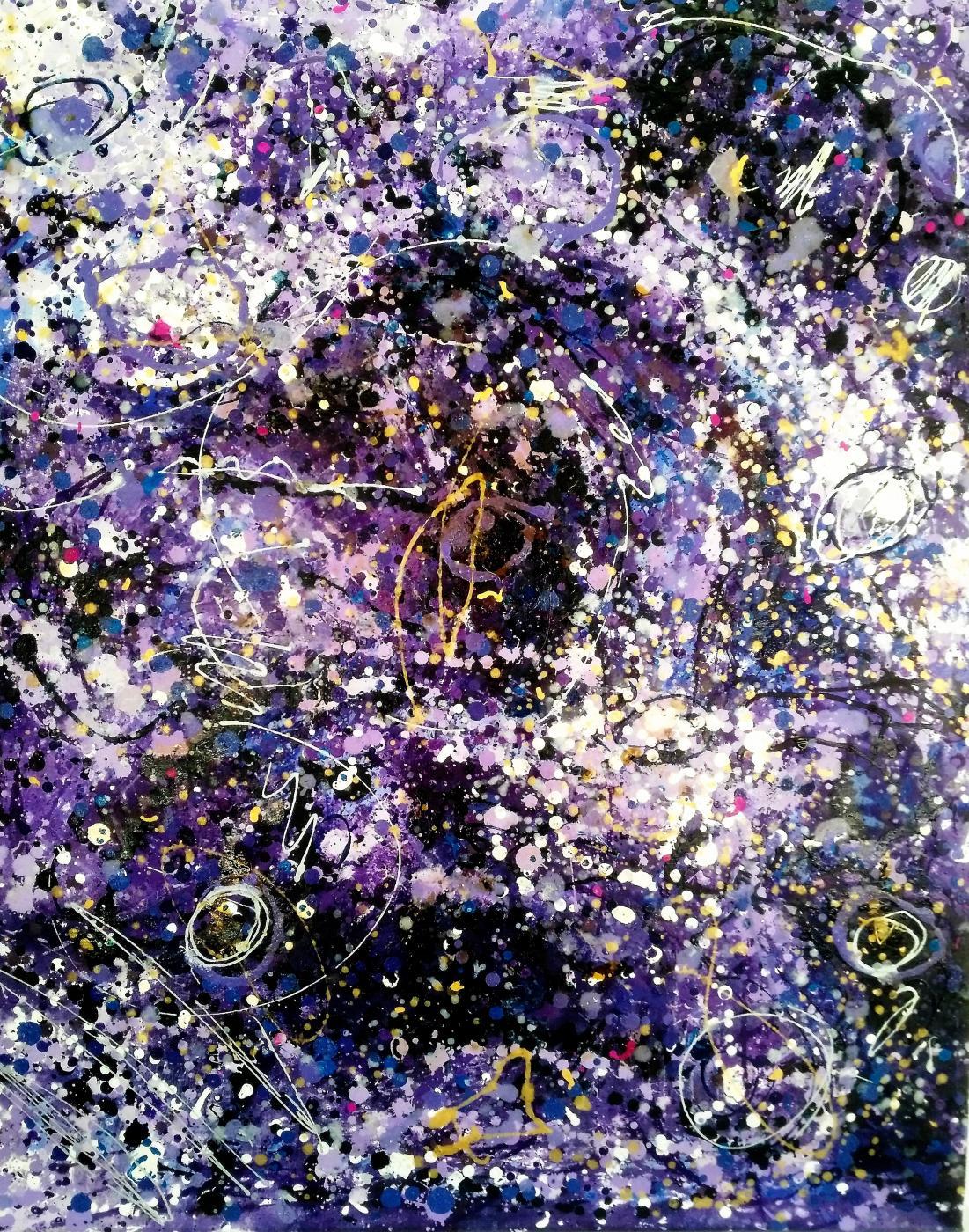Constelación en lila's I (2017) - Joan Parramón Fornos