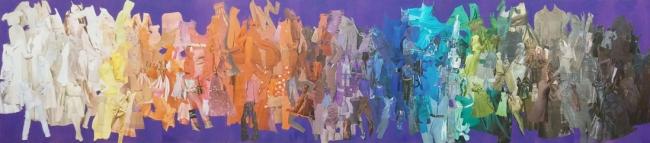 """""""Carta de colores"""" - Tríptico - De la serie Tono sobre Tono"""