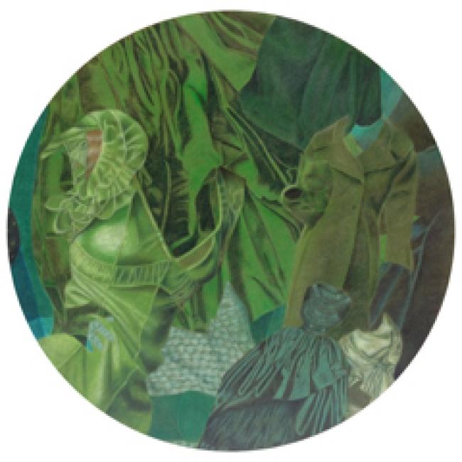 """Verde sobre Verde"" - De la serie Tono sobre Tono"