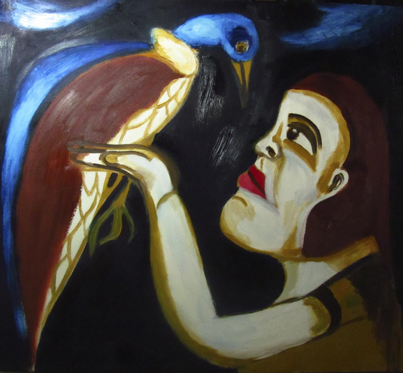 ELLA Y EL PÁJARO (2019) - Ileana Andrea Gómez Gavinoser