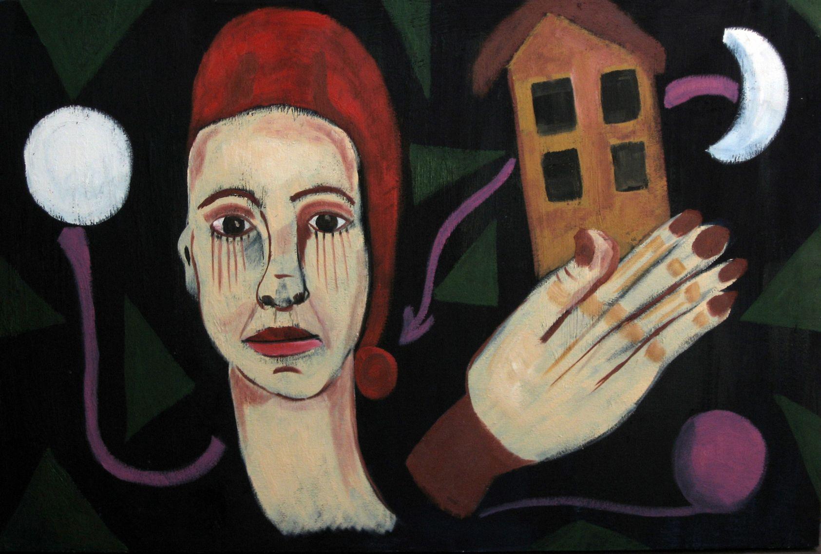 MUJER QUE BUSCA UN LUGAR IGNOTO (2012) - Ileana Andrea Gómez Gavinoser