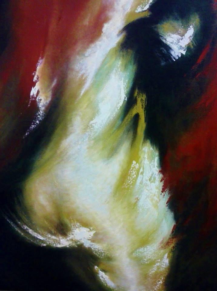 Desnudo abstracto (2016) - Mario Sanchez M