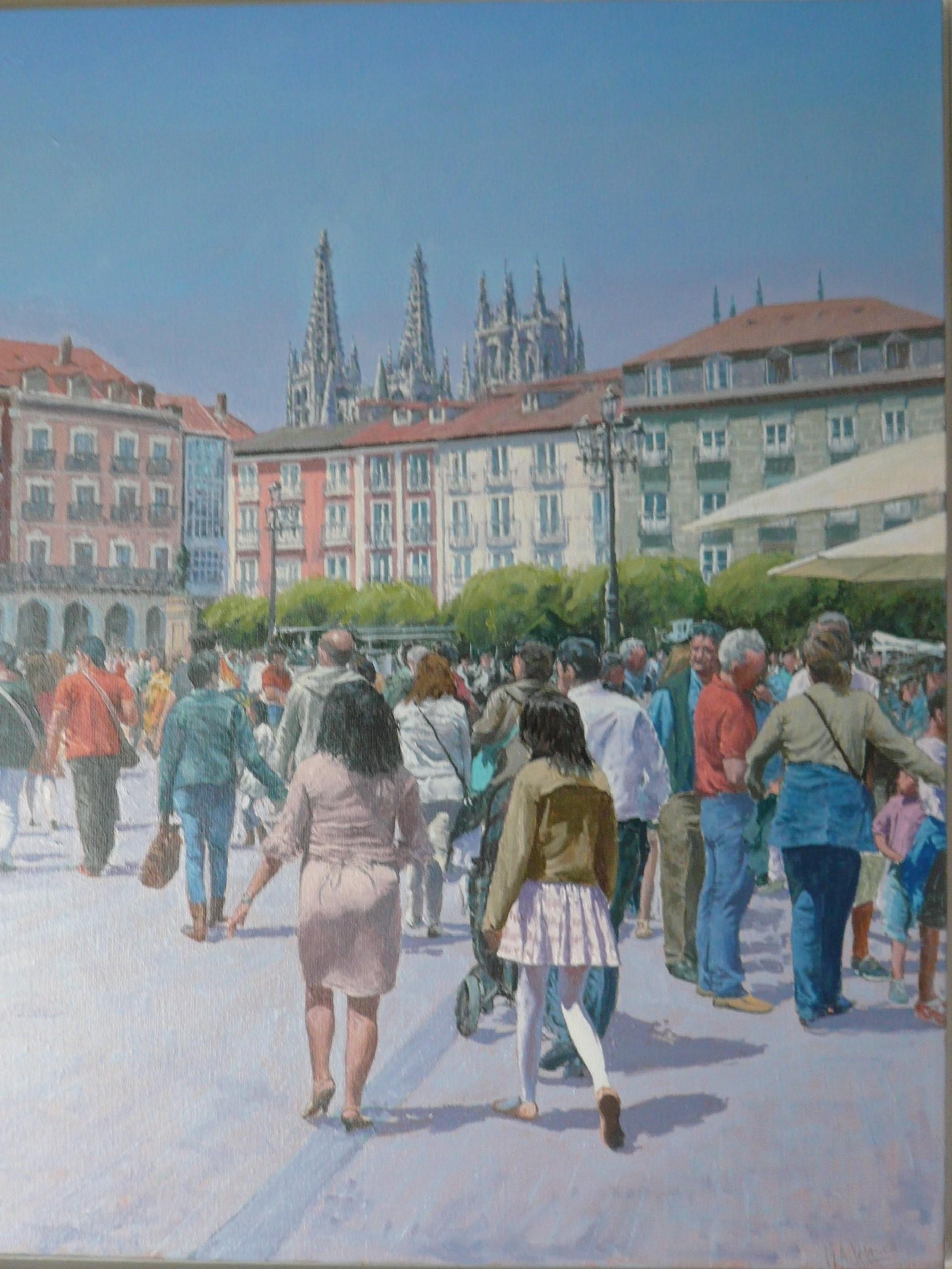 BURGOS, PLAZA MAYOR (2020) - Miguel Ángel Velasco Diez