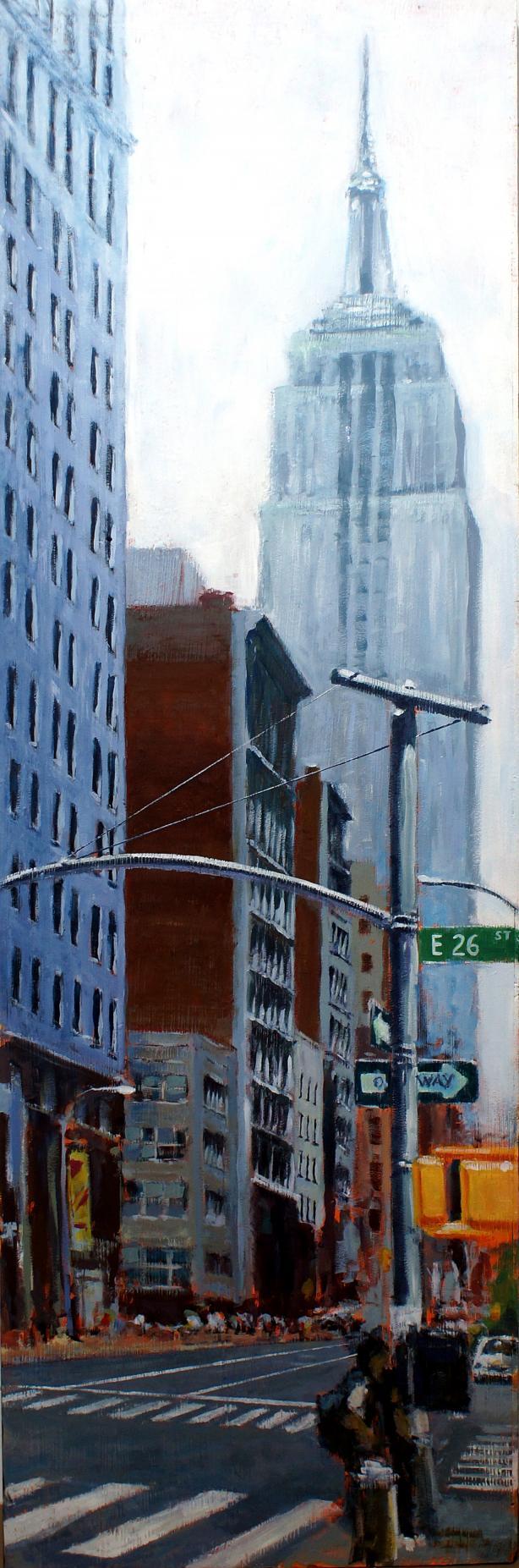 DÍA NUBLADO EN NUEVA YORK (2014) - Enrique Pitarch