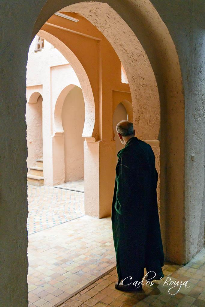 Asomado a la Alcazaba