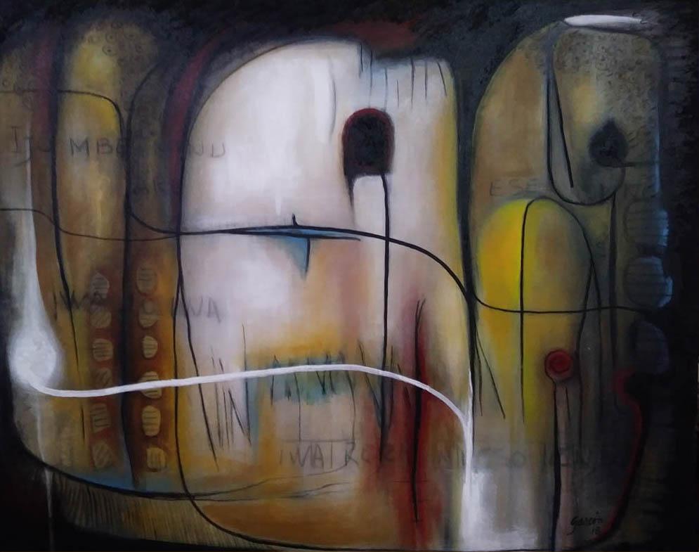 Abstracto Yoruba II (2018) - José Clemente Gascón Martínez - Gascón