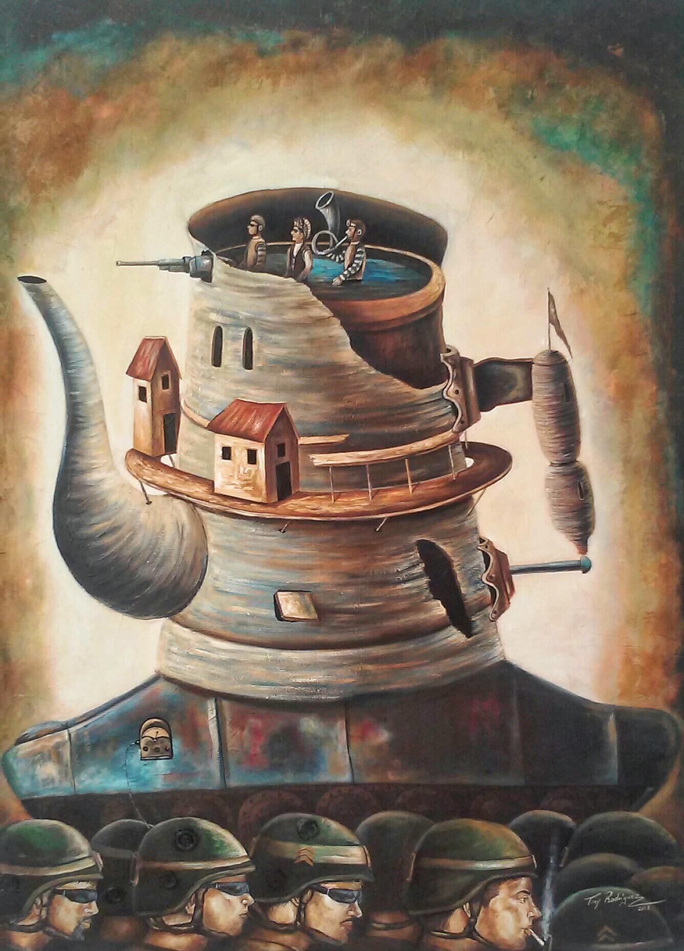 La invasión de los Tanques-cafetera. (2013) - Juan Antonio Rodriguez Olivares - Tony Rodriguez
