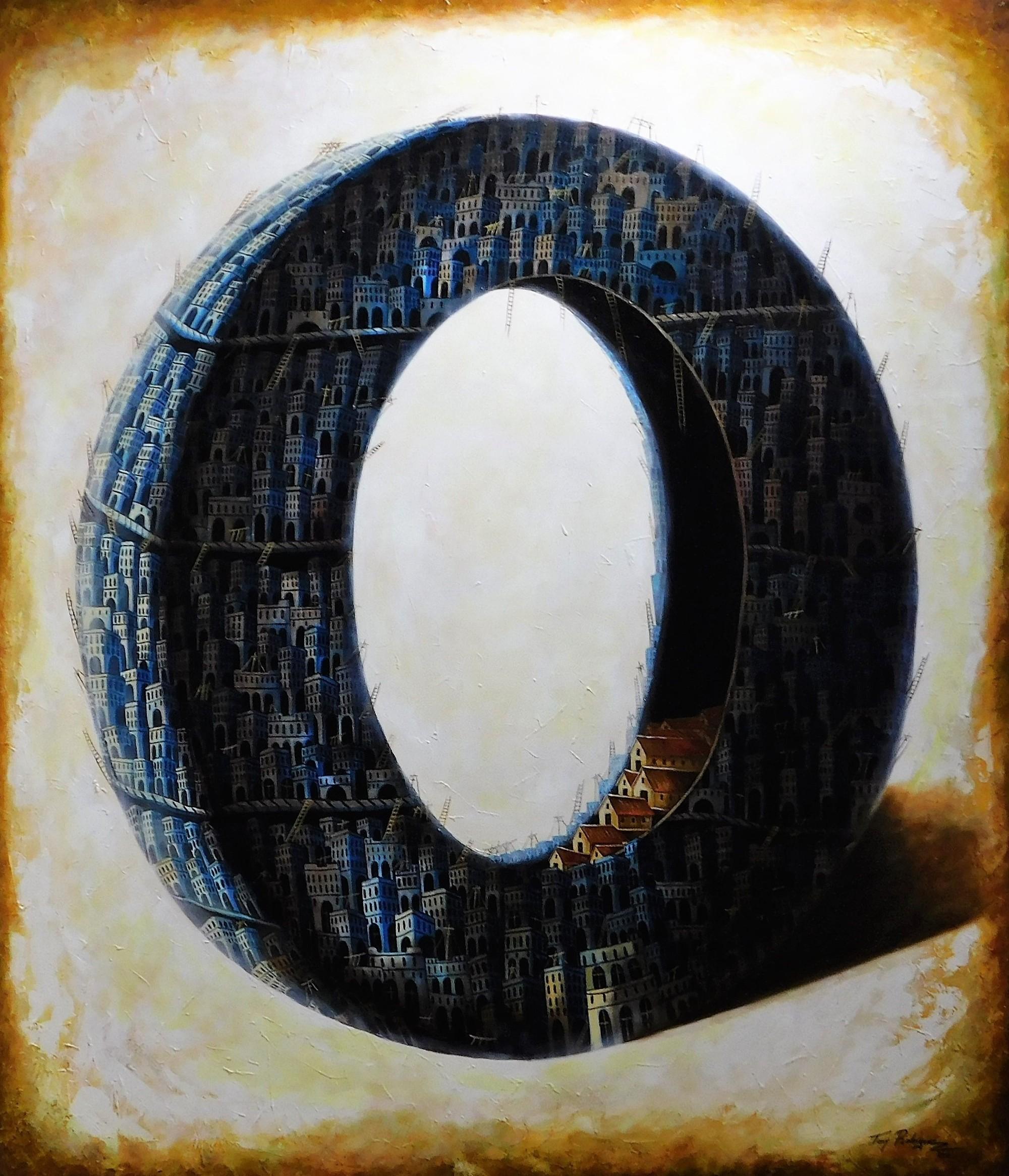 De la serie Que somos, de donde venimos, hacia donde vamos. (2016) - Juan Antonio Rodriguez Olivares - Tony Rodriguez