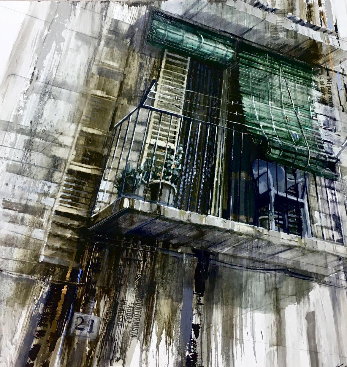 Dos persianas y un balcón (2017) - Aida Mauri