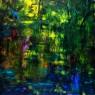 Sin Título, acrílico sobre lienzo, 120 x 120 cm, 2019