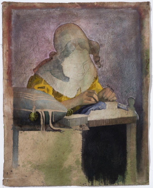 Cita e Imagen 1. La encajera de Vermeer.