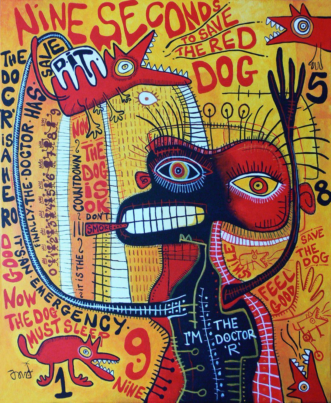 Nine seconds to save de Red Dog (2021) - David García Rincón