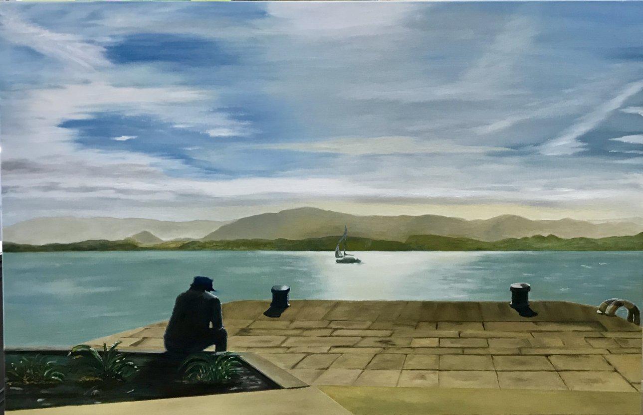 Meditando (2019) - Pedro Antonio Alonso Ruiz - Pedri
