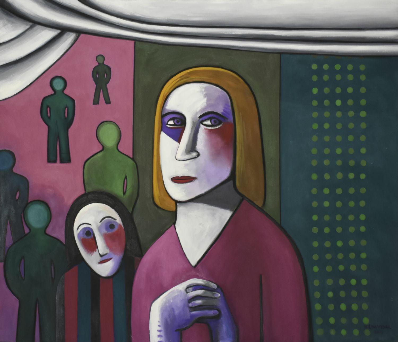 """Esas Máscaras a Medias Ocupadas"" (2015) - Hilda Vidal"