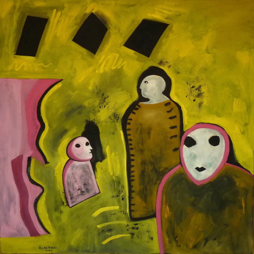 La Memoria, La Mirada Y la Máscara. (2009) - Hilda Vidal