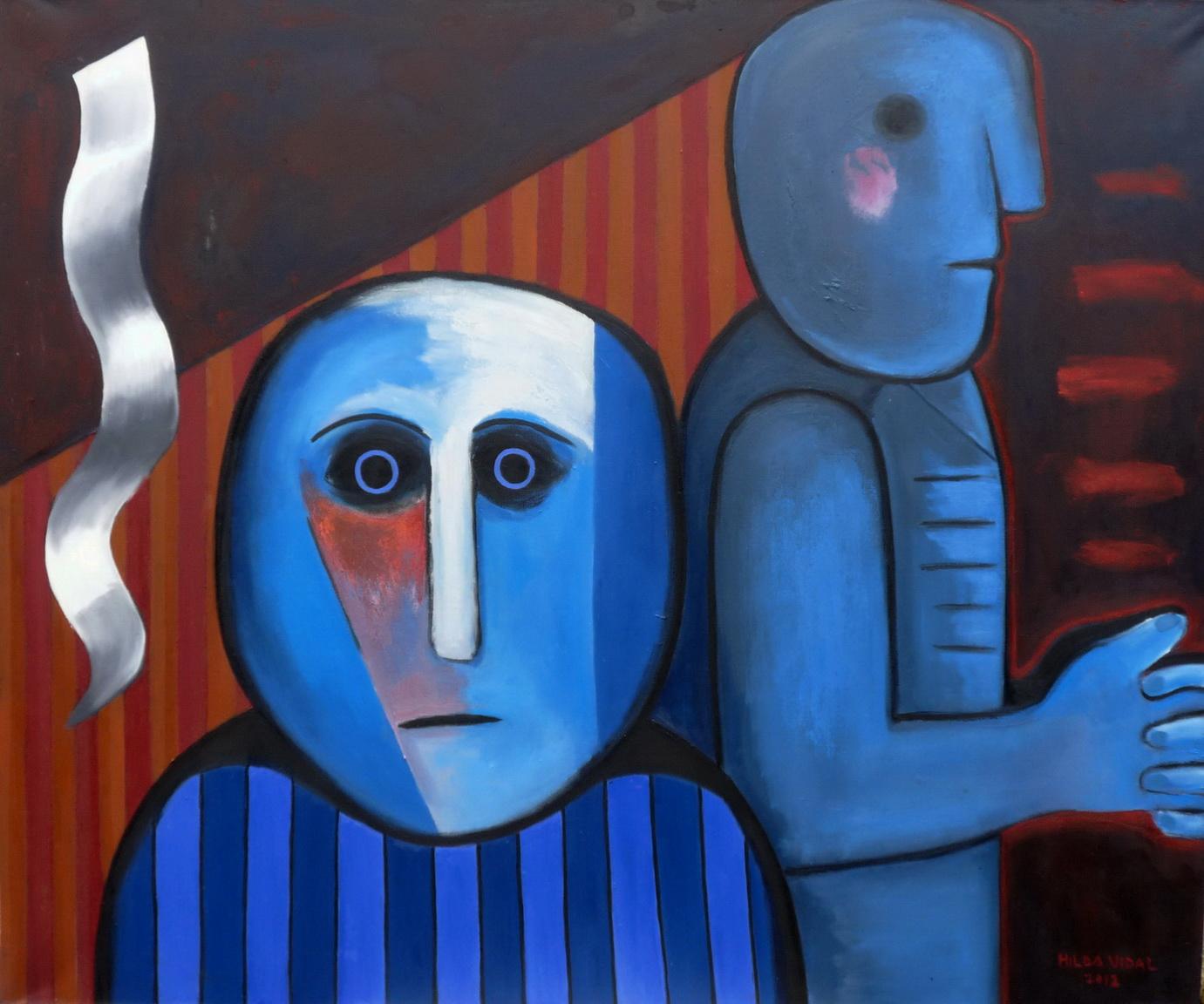 Se Creyó Mirar y era Mirado (2012) - Hilda Vidal