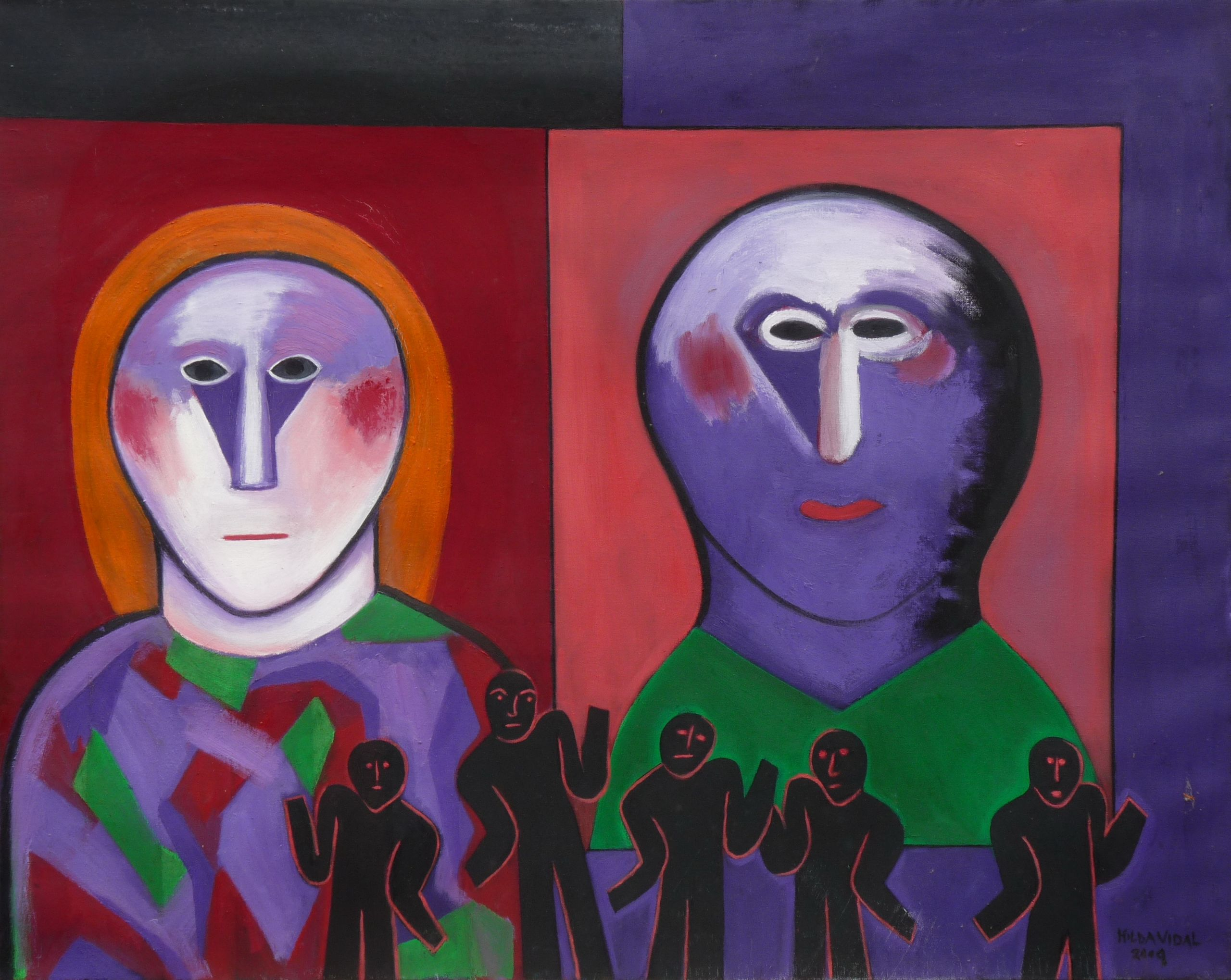 """Un testigo Perenne y Dilatado"" (2010) - Hilda Vidal"