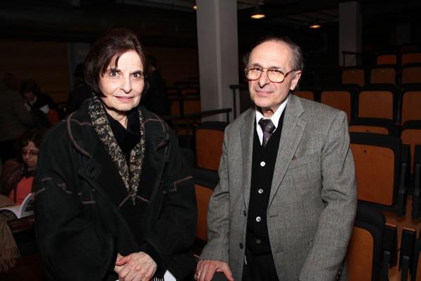 Clara Ost y Carlos Engelman. Cortesía de la Fundación Itaú Uruguay
