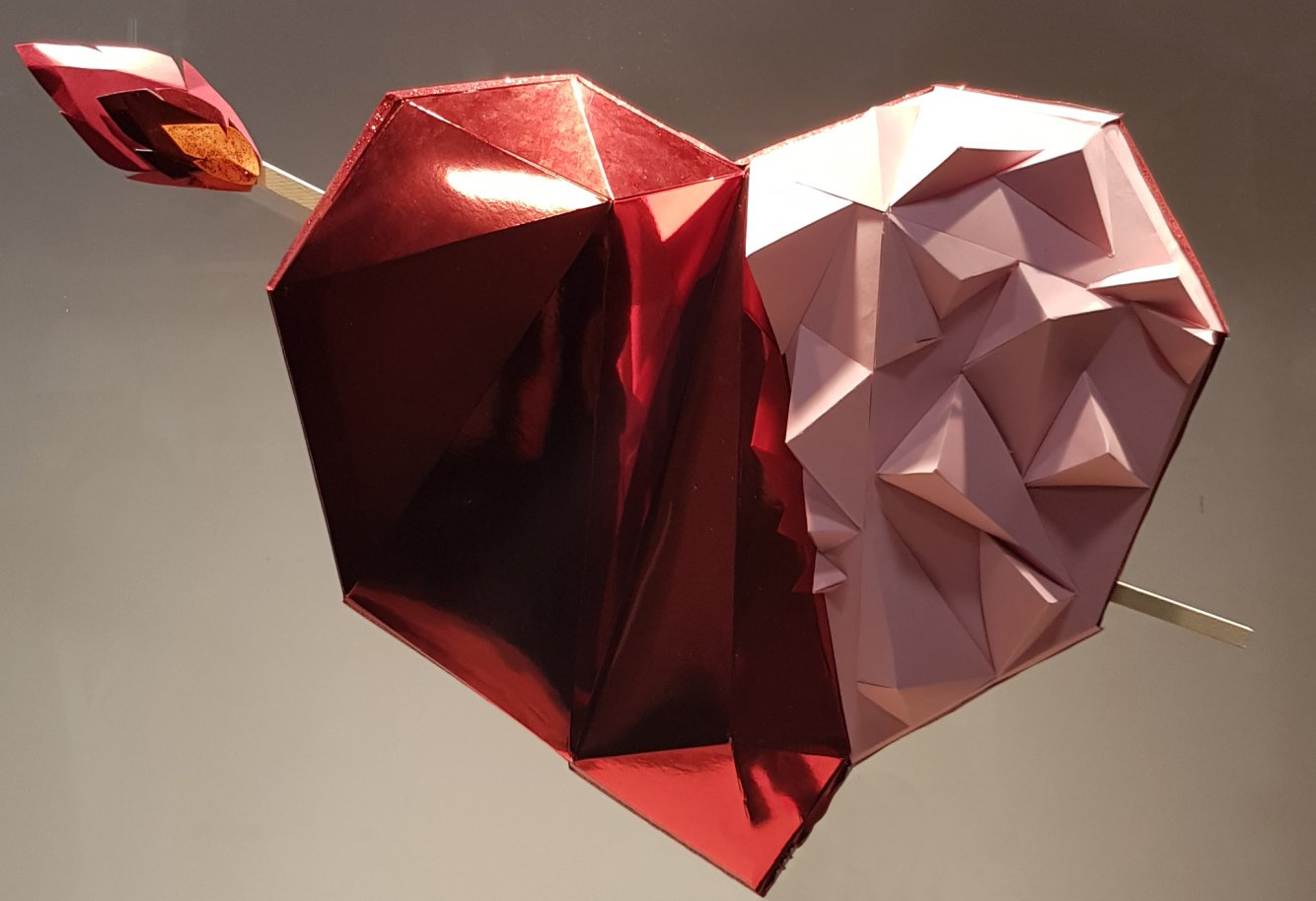 Geometrías románticas (2019) - Marta Herrero Arias - Missmsmith - Arte en papel