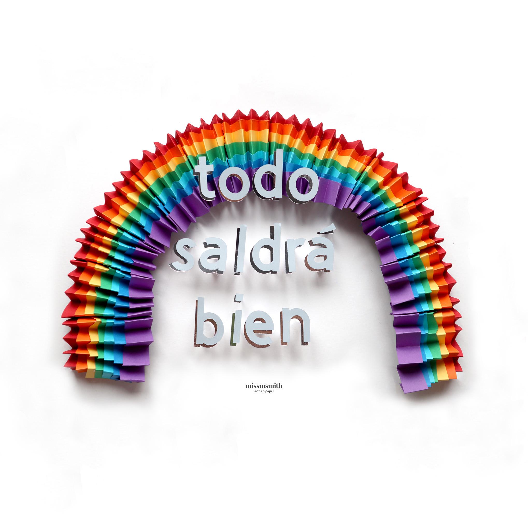 Todo saldrá bien (2020) - Marta Herrero Arias - Missmsmith - Arte en papel