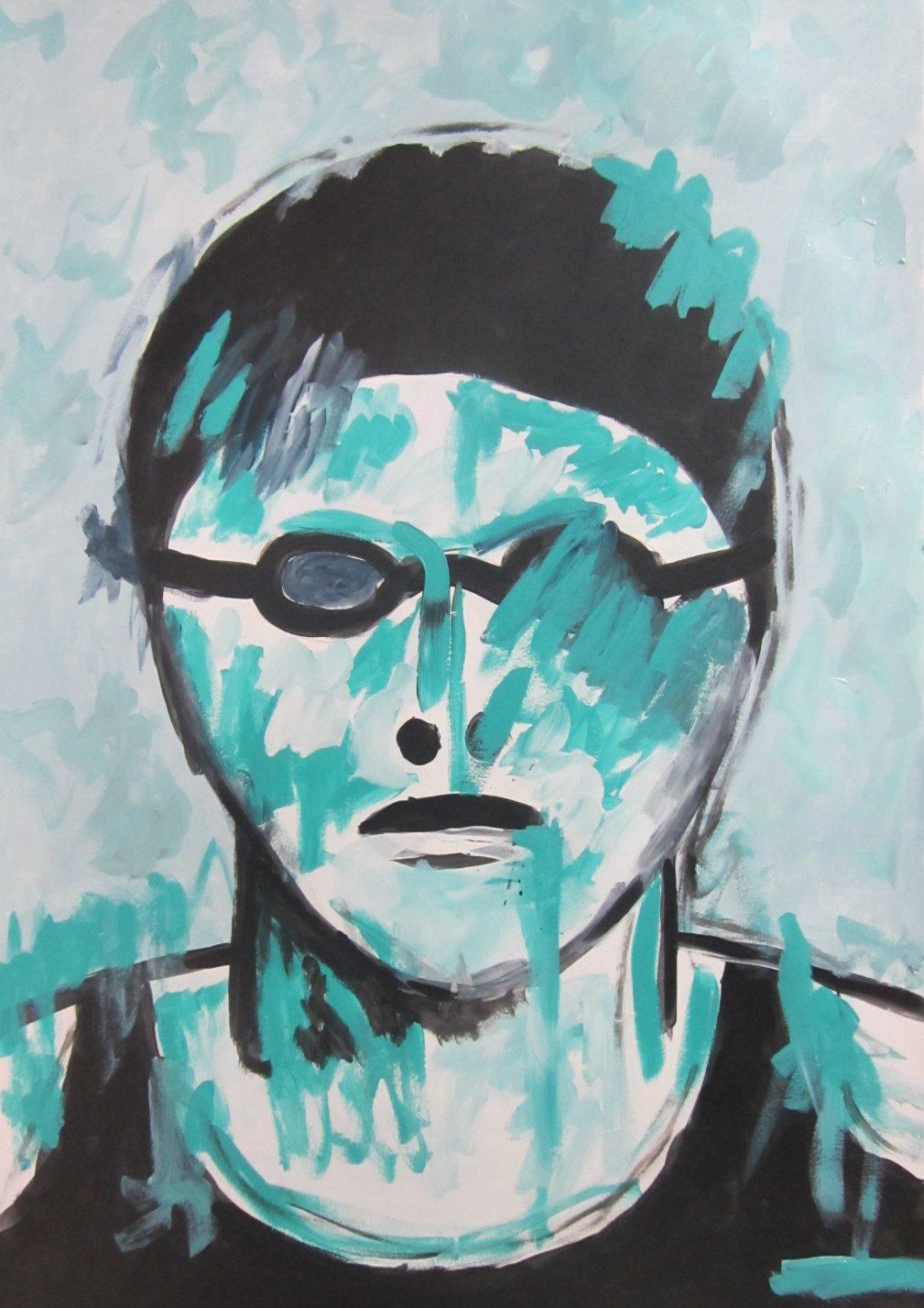 NADADOR BLUE (2021) - Francisco Serrano Gutierrez - F.Serrano