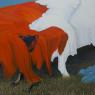 Amanecer (acrílico en tela 150 x 150 cm)