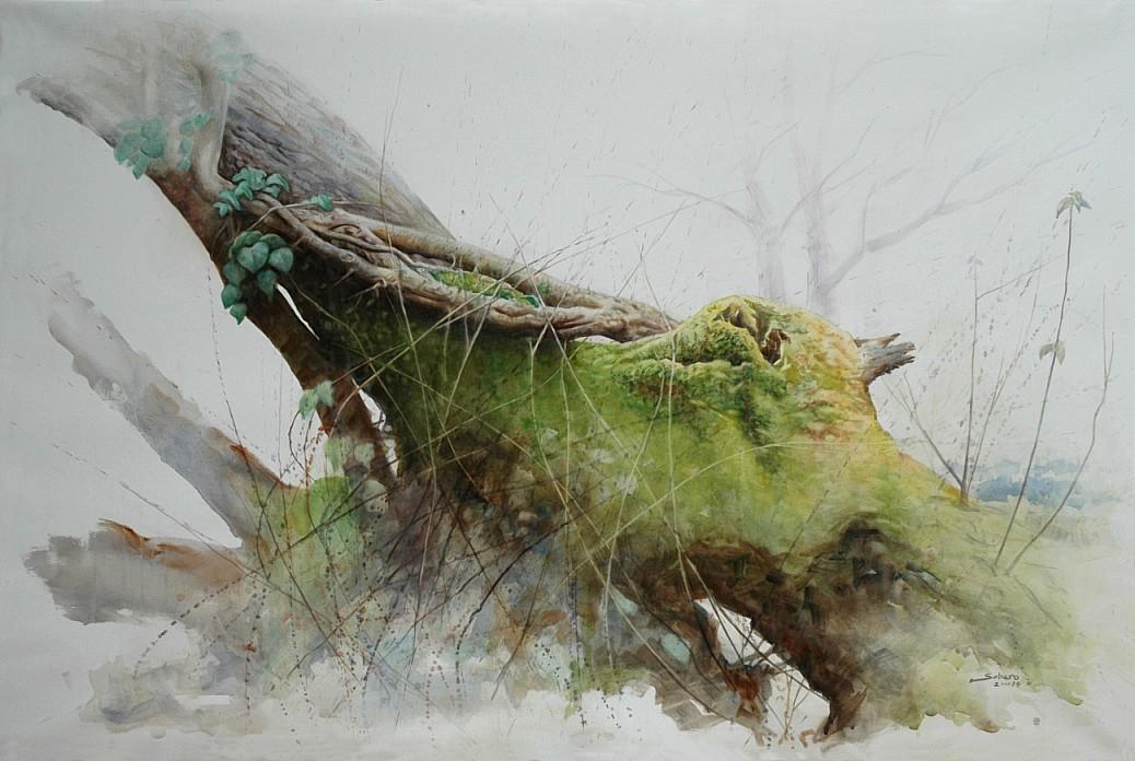 Al árbol viejo le han salido... (2014) - Vicente Sobero García