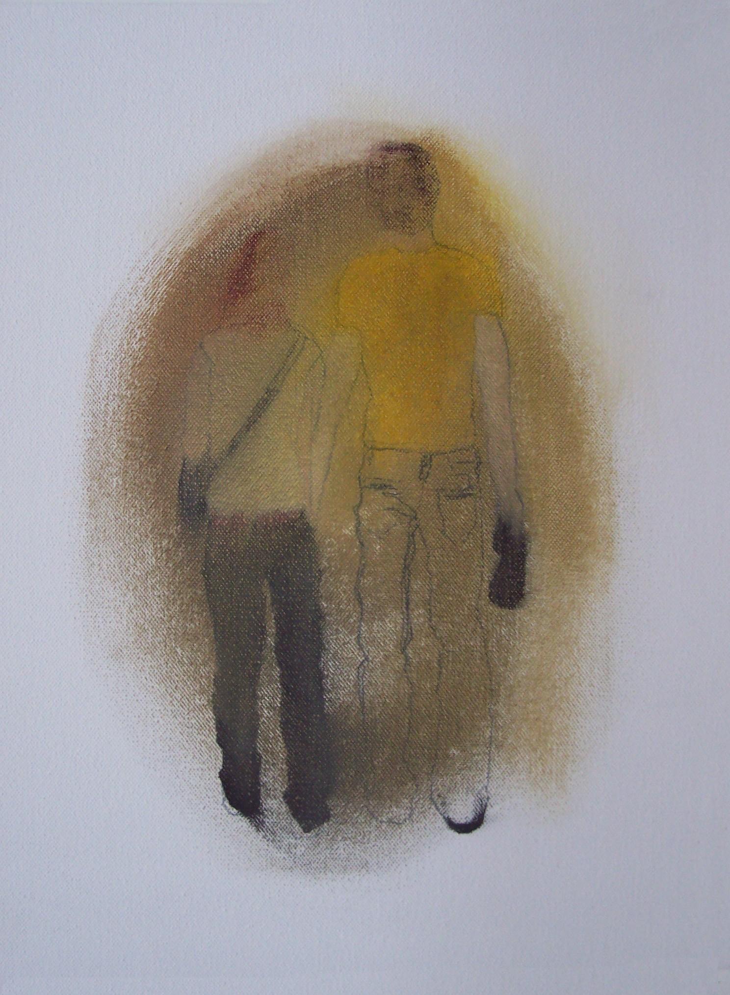Pareja emborronada (2010) - Jesús Manuel Moreno