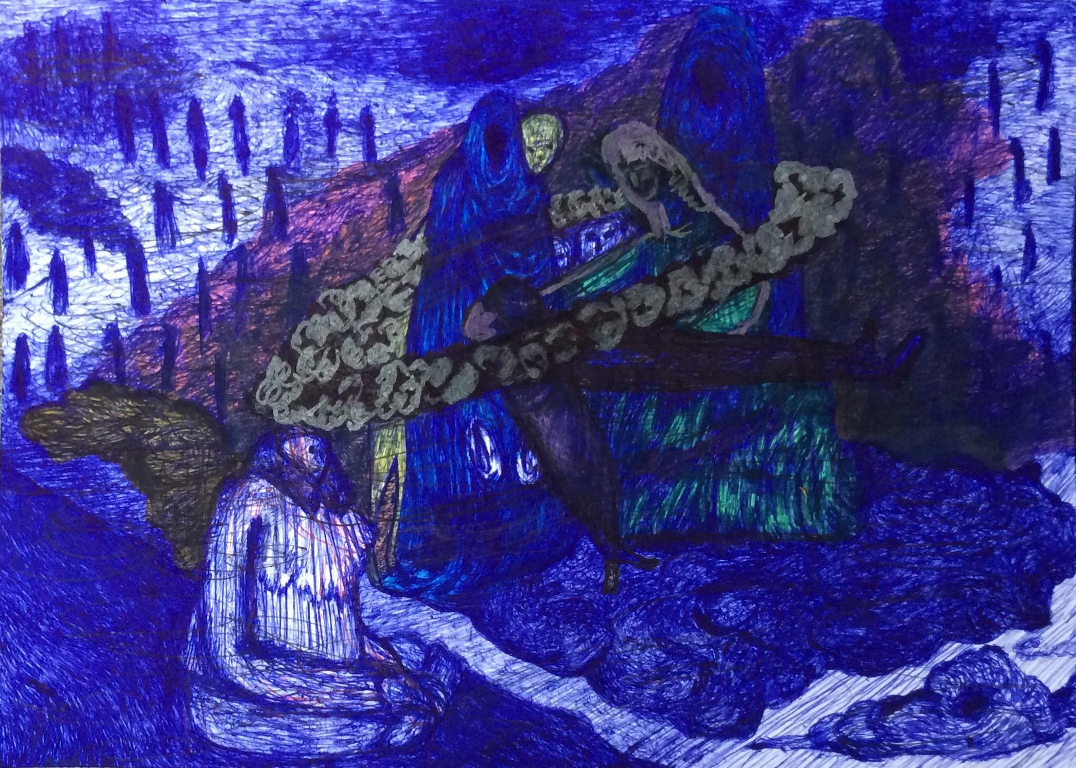 Isadora Duncan me habla 7 (2020) - Consuegra Romero