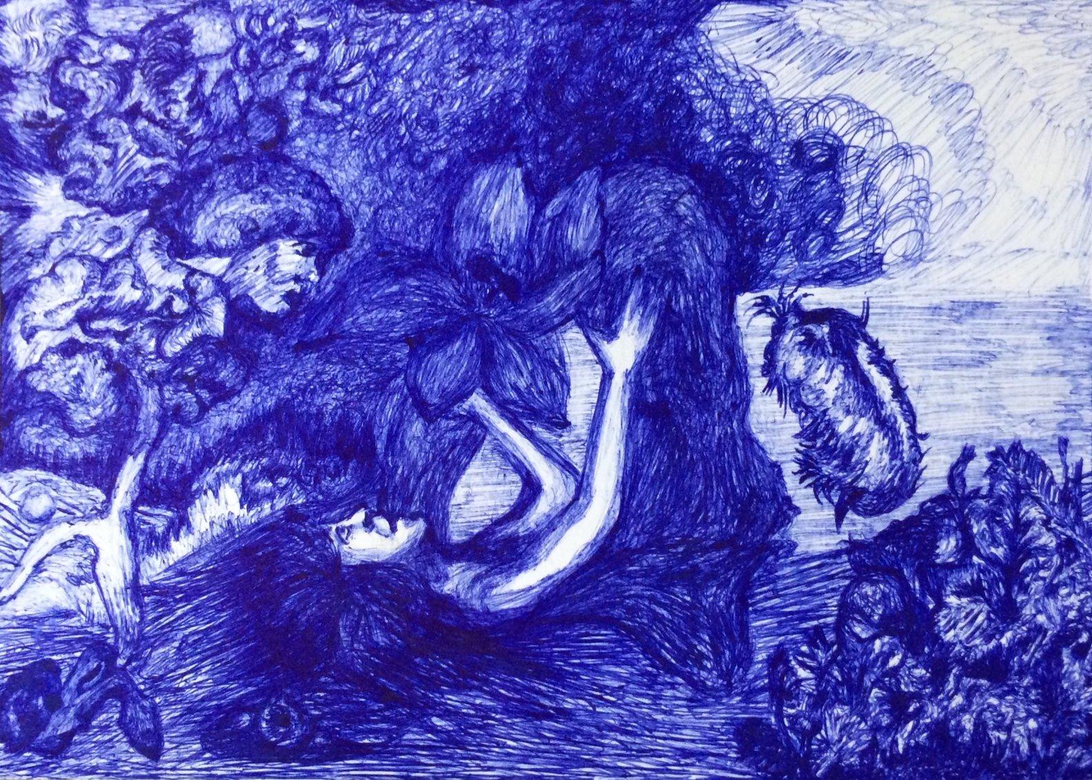 Isadora Duncan me habla 5 (2020) - Consuegra Romero