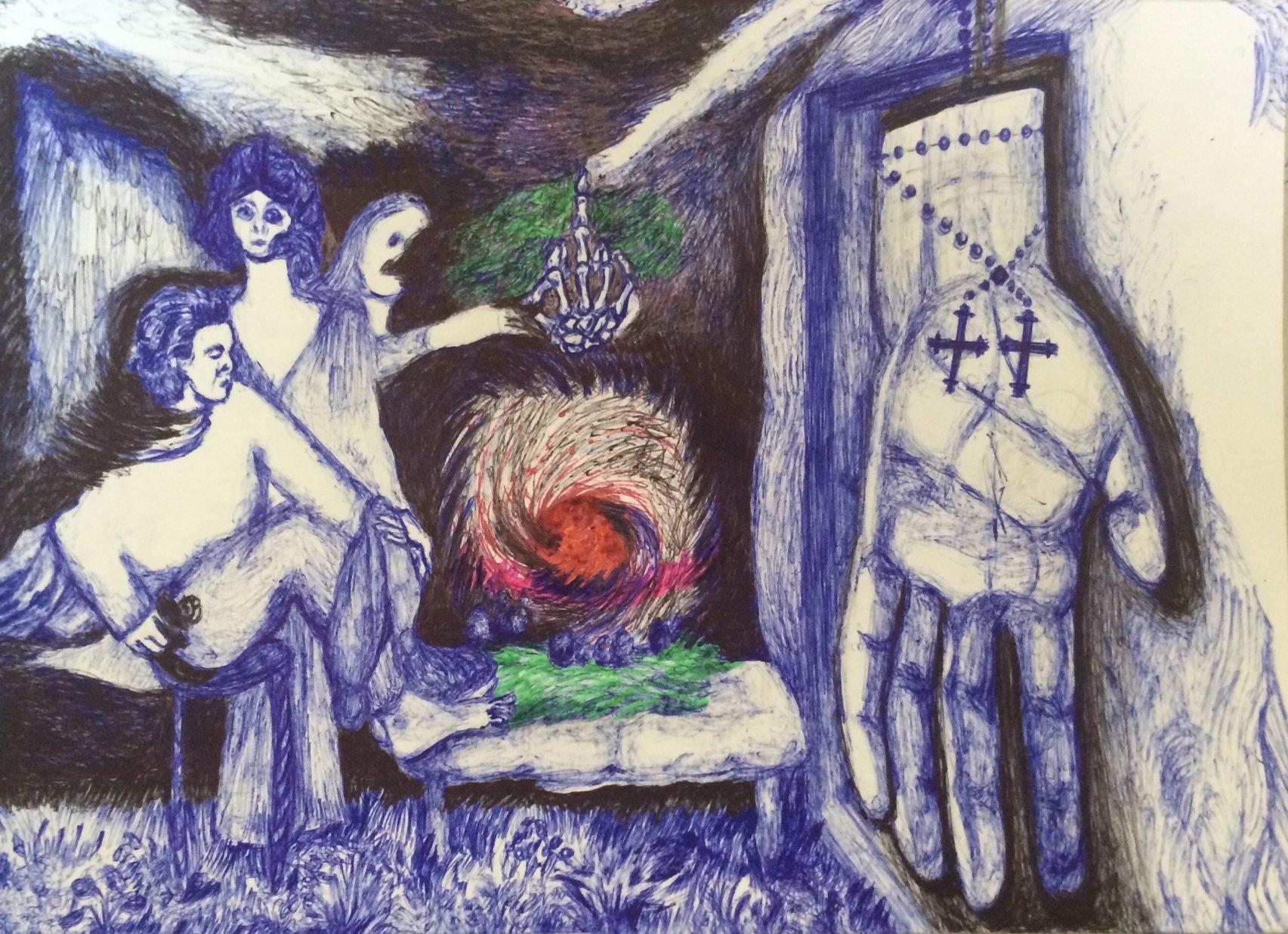Isadora Duncan me habla 8 (2020) - Consuegra Romero