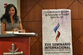 Con la confederacion de periodistas Ecuador NY