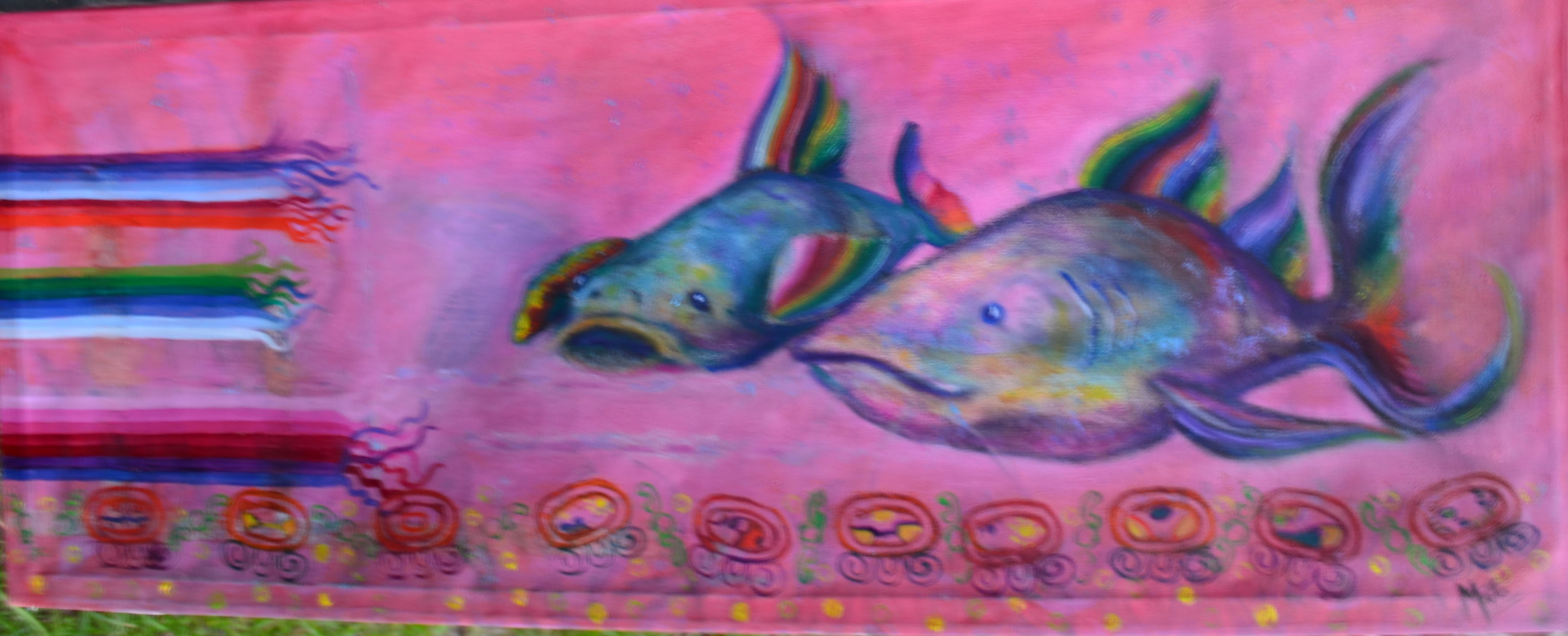 """""""Peces nortinos I"""" (2020) - Jeannette Matte"""