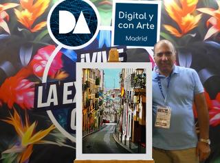 Osvaldo Russo Salles es Digital y con Arte, Madrid