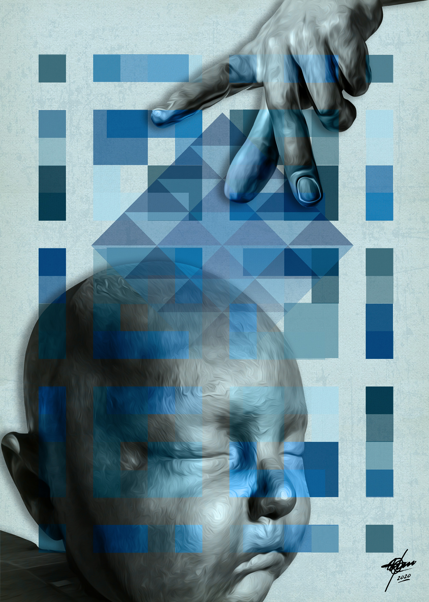 Designio (2020) - Osvaldo Russo Salles - Digital y con Arte