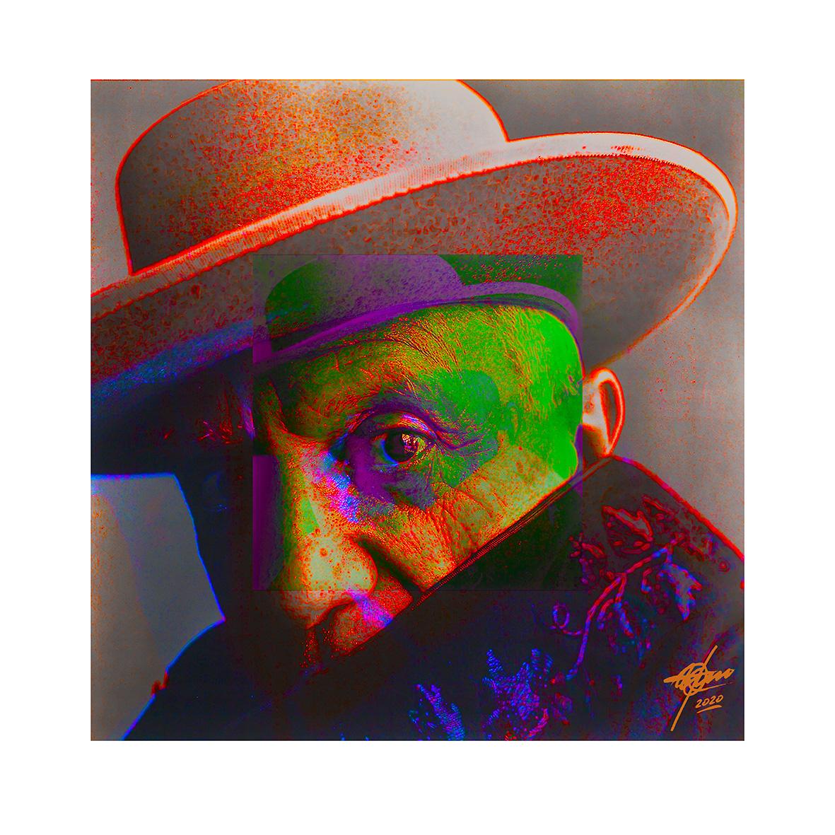 Ponga un Picasso en su vida (Don Pablo) (2020) - Osvaldo Russo Salles - Digital y con Arte