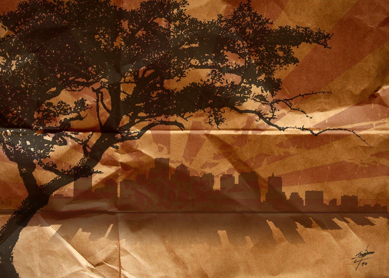 Urban II (2010) - Osvaldo Russo Salles - Digital y con Arte