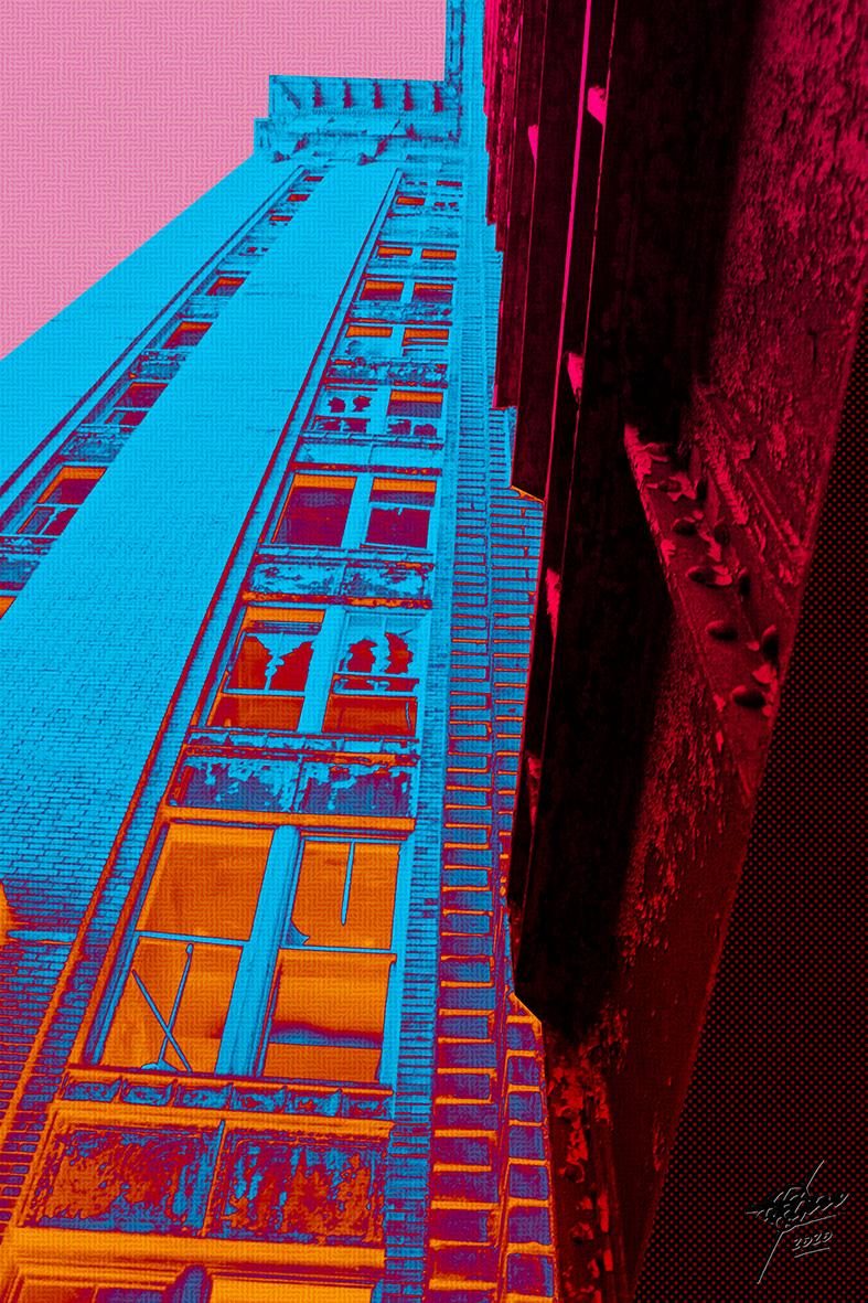 Urban pop I (2020) - Osvaldo Russo Salles - Digital y con Arte