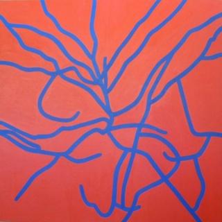 Tamarindo, óleo sobre tela, 2013. Cortesía Armando Williams