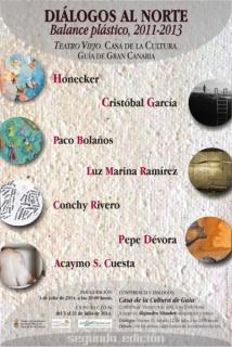 DIÁLOGOS AL NORTE. 2ª Edición. Balance plástico, 2011-13. Arte canario.