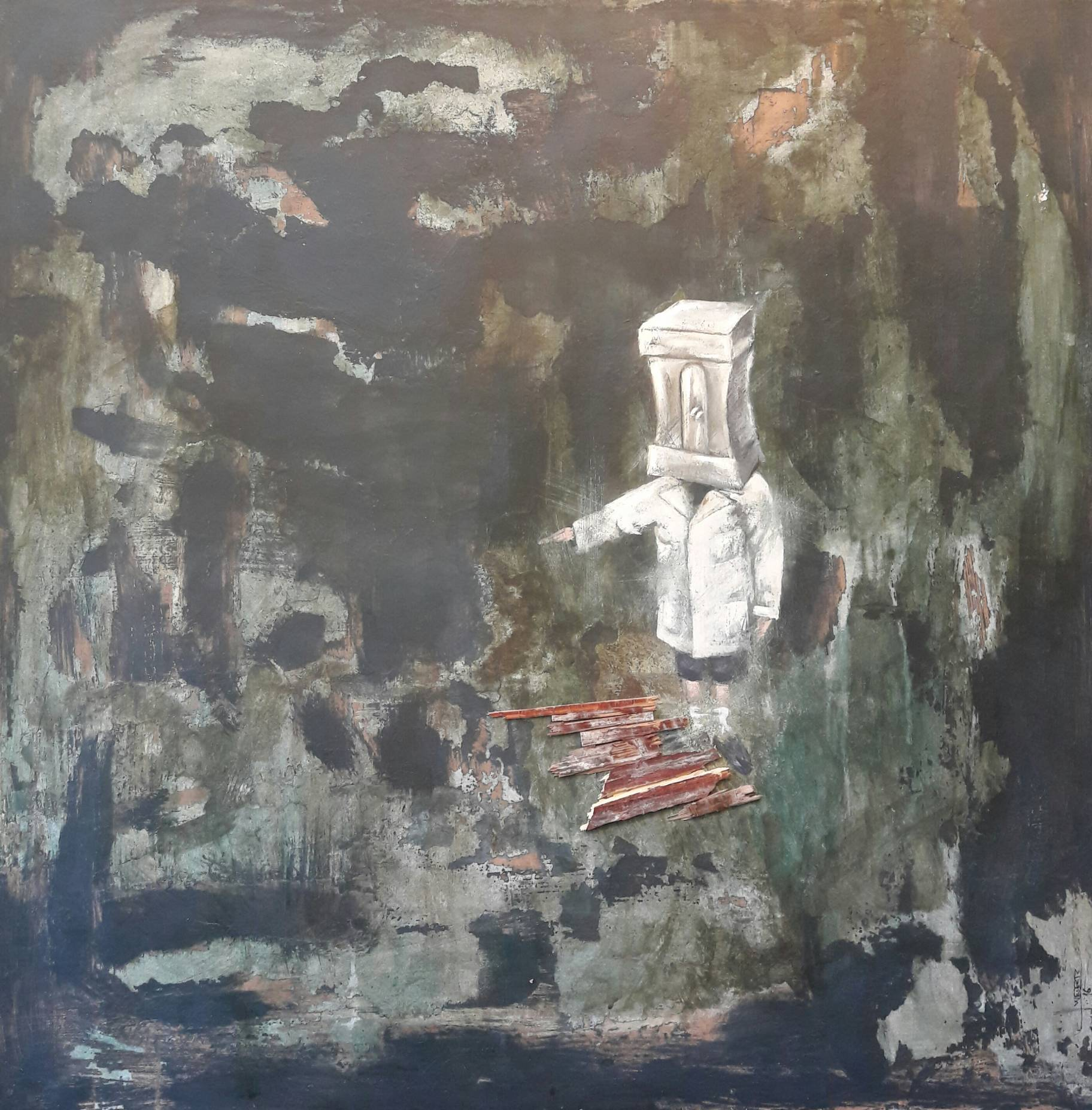 AFINANDO EL LÀPIZ (2016) - Gustavo Wedertz