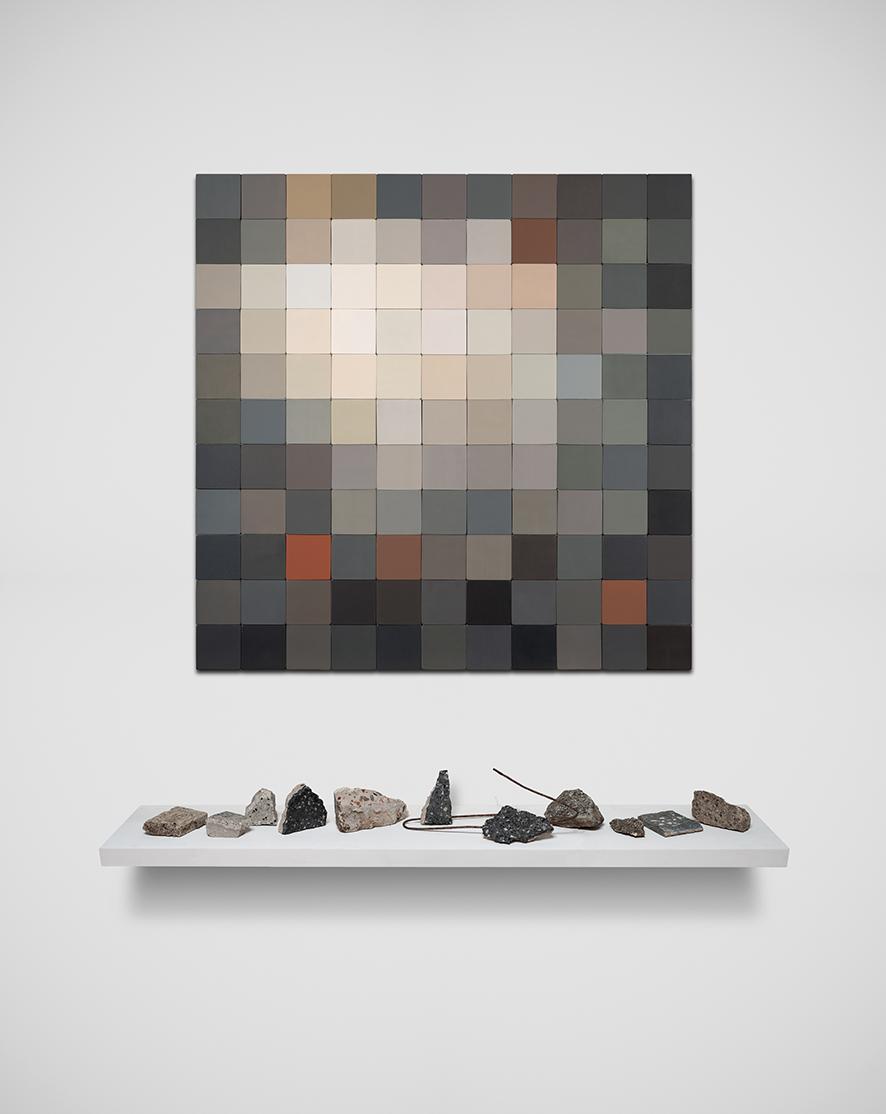 Granítico, de la serie Arqueologías Cromáticas
