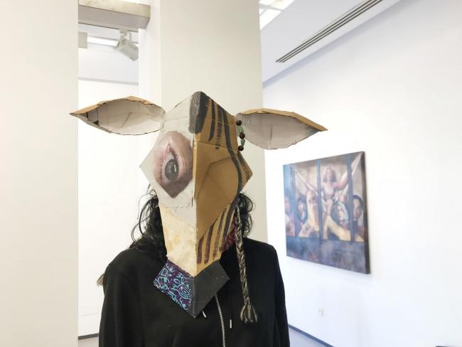 Máscara animalada