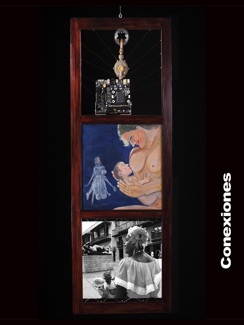 conexiones (2019) - José Leo Erazo Soler - Leo Erazzo