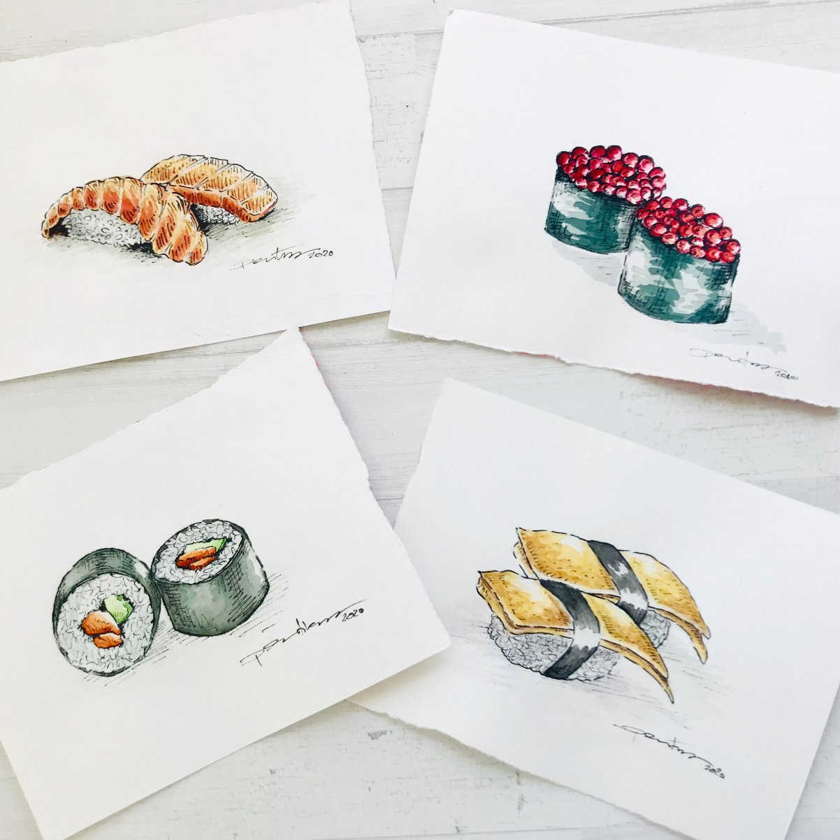 Sushi (2020) - Flor de Libertad Pertierra