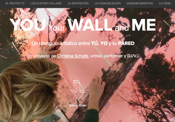 You your Wall and Me, an online call to offer a wall