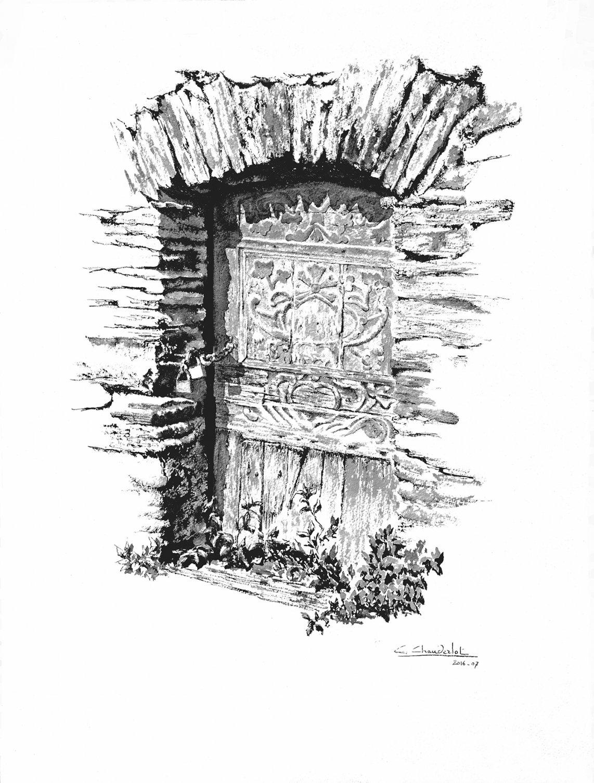 Puerta de Santa Crocce (2014) - Carlos Chauderlot Cortes - Charles CHAUDERLOT