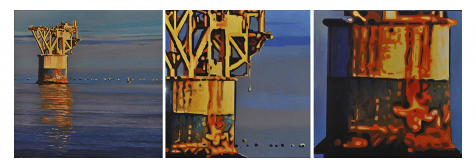 Torre de carga de mineral de la playa del Cable. Marbella (2015) - Ricardo Alario