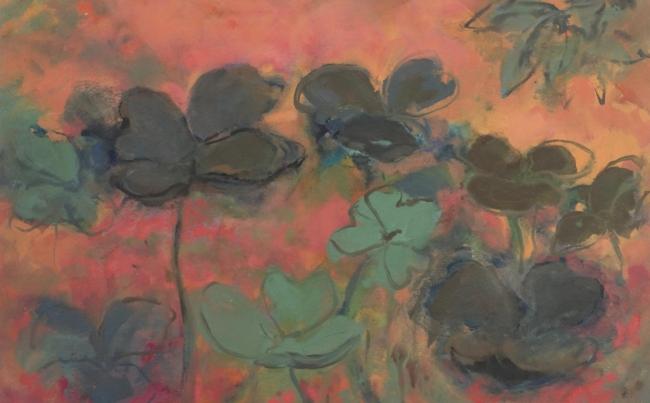 Evening, 2005. T mixta/tela, 81 x 130 cm