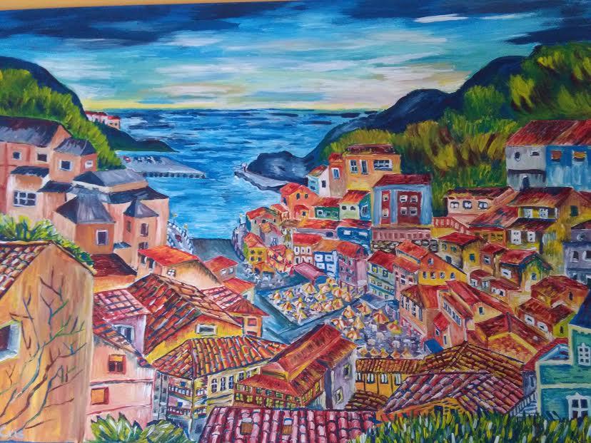 Pueblo de mar (2016) - Ana Cristina Moya Rubiera